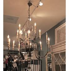 katrina antique silver french country 14 light chandelier kathy kuo home