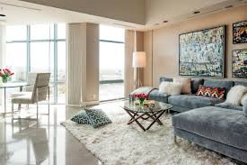 Modern Living Room Rug 12 Living Room Ideas For A Grey Sectional Hgtvs Decorating
