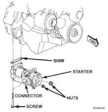 mercruiser starter solenoid wiring diagram wiring diagram hi i replaced the starter in my 4 3l v6 mercruiser