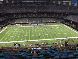 Mercedes Benz Superdome View From Terrace Level 641 Vivid