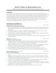 Residential Manager Resume Sample Resume For A Commercial Property ...
