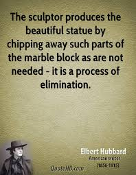 Statue Quotes Unique Elbert Hubbard Art Quotes QuoteHD