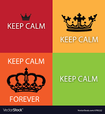 Keep Calm And Design On Keep Calm Design Elements