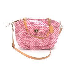 Coach Op Art Leah Tote Handbag ...