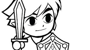 toon link coloring pages. Brilliant Coloring Link Coloring Pages Skyward Sword Toon  And Toon Link Coloring Pages E