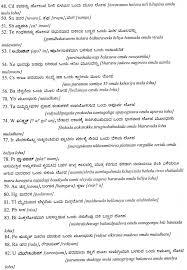 Kannada chemical elements list
