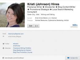 low hanging fruit of social media quick changes that will make  linkedin links on profile