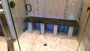granite shower bench stone shower bench granite with manufactured wood bathroom vanities tops transitional and stone granite shower bench