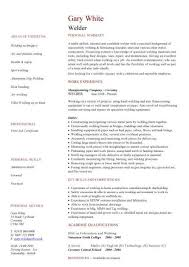 Welder Resume Examples Enchanting Construction CV Template Job Description CV Writing Building