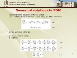 11 numerical solutions