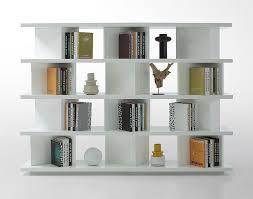 white wall shelves for books in living