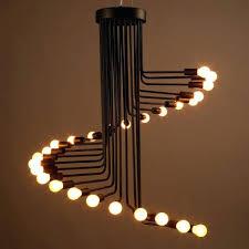 industrial loft lighting. Industrial Metal Pendant Lights Vintage Loft Lighting Creative Black Hanging Light Fixture Glass And S