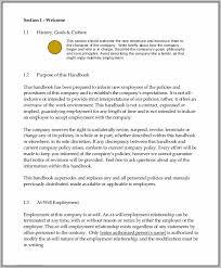 Staff Manual Template Custom Small Business Employee Manual Template Free Woodbridgechevrolet