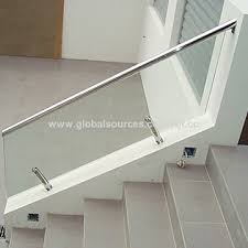 china 12 76mm clear tempered laminated glass for railings