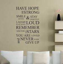 Life Quote Wall Stickers Inspirational Wall Decals Removable Design Idea And Decorations 16