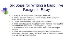 10 Steps To Writing An Essay 10 Steps To Writing A 5 Paragraph Essay Essay Writing Skills