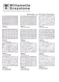 Brick Patterns For Patios Lane County Concrete Pavers Brick Patterns