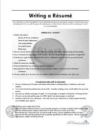How To Compose A Resume Resume