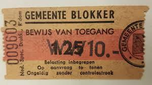 Original Dutch Programme And Ticket Stub Catawiki