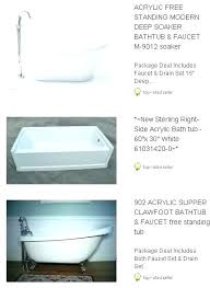 60 x 30 bathtub inch long bathtub x soaking tub deep jacuzzi 60 x 30 whirlpool