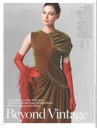 Vogue Patterns Dresses Unique Vintage Vogue PatternVault