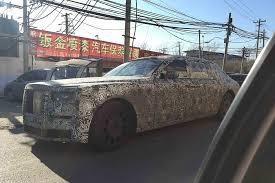 2018 rolls royce phantom interior. exellent rolls 2018 rollsroyce phantom front three quarters spy shot china and rolls royce phantom interior
