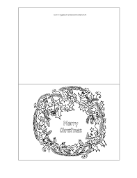 Looking for free printable christmas cards? Christmas Cards For Kids To Color Coloring Home