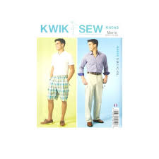 Mens Pants Pattern Stunning Kwik Sew Mens Shorts And Pants Pattern Discount Designer Fabric