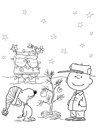 charlie brown christmas coloring page. Beautiful Page Charlie Brown Christmas Coloring Page With Coloring Page H