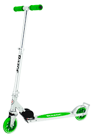 Green Light Up Razor Scooter A3 Scooter Razor