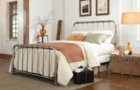 The Right Iron Bed Frame Queen Support for Queen New Mattress Set ...