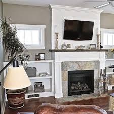 elegant fireplace shelves decorating ideas best 25 shelves around fireplace ideas on craftsman