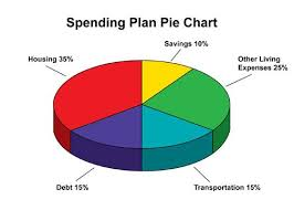 Budget Spending Pie Chart Spending Plan Pie Chart I Love That Discover Does This For