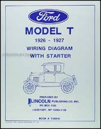 1926 1927 ford model t wiring diagram manual reprint
