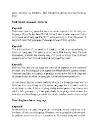 Key Skills Meaning Key Skills Of Efl Teacher