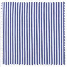 Classic Bengal Stripe Custom Dress Shirt In Blue By Gitman Brothers