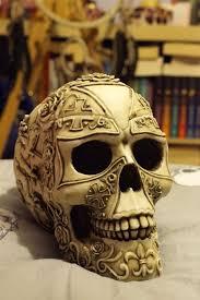 Lebka Symbol Znovuzrození