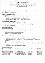 Sample Executive Assistant Resume Certified Nursing