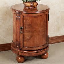 Round Chairside Table Side And End Tables Touch Of Class