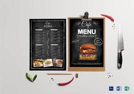 35 Cafe Menu Templates Free Sample Example Format