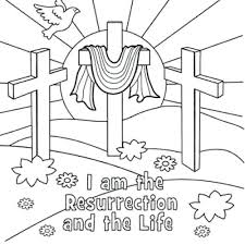 Bible Easter Coloring Pages Easter Coloring Pages For Sunday School