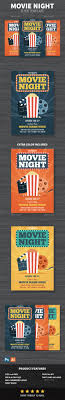 Movie Night Flyer By Bonezboyz9 | Graphicriver