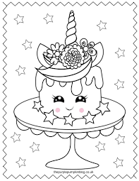Click on any of the thumbnails below to download the printable colouring page. Super Sweet Unicorn Coloring Pages Free Printable Colouring Book