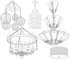 industrial design lighting fixtures. Cad Desiger Santangelo Industrial Artist Design Lighting Fixtures I