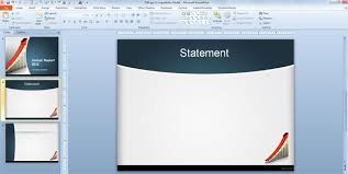 finance report templates how to make an annual report using powerpoint templates