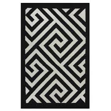 enchanting black and white outdoor rug eco friendly rugats sustainable recycled materials