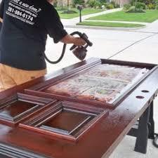 refinishing front door281 684 617 four Houston front door refinishing  Refinishing
