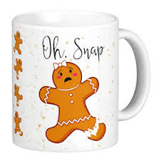 gingerbread woman. Plain Woman Image Is Loading GingerbreadWomanOhSnapMugohsnapGingerbread Inside Gingerbread Woman