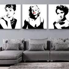 indesign wall art y marilyn monroe audrey hepburn liz taylor modern home dec