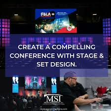 Visual Design Conferences 2019 Create A Compelling Conference With Stage And Set Design